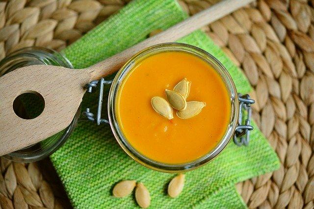 Zdrowe posiłki - zupa - praca